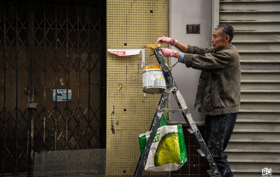 Le peintre, Paris, 2018