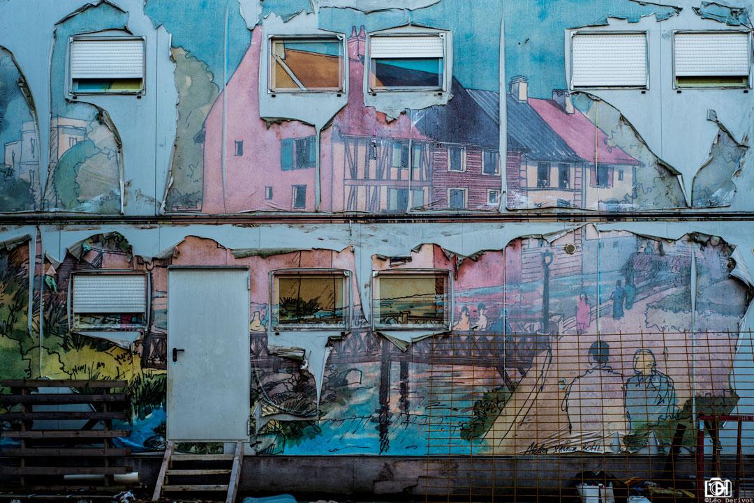 Vie de façade, France, 2017