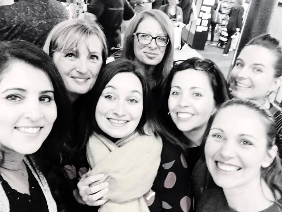 Anne, Gaga, Dharma, Lissou, Chacha & Céline