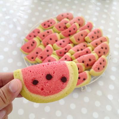 Watermelon Biscuits