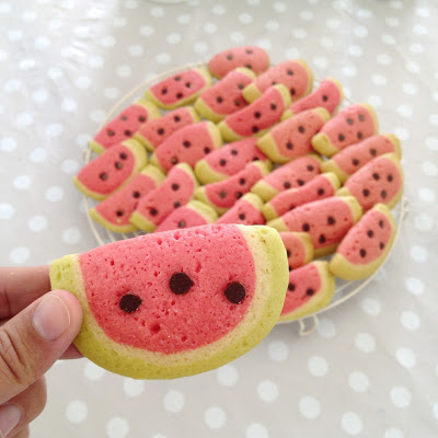 Watermelon Biscuits