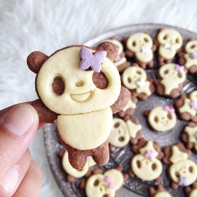 Panda Biscuits