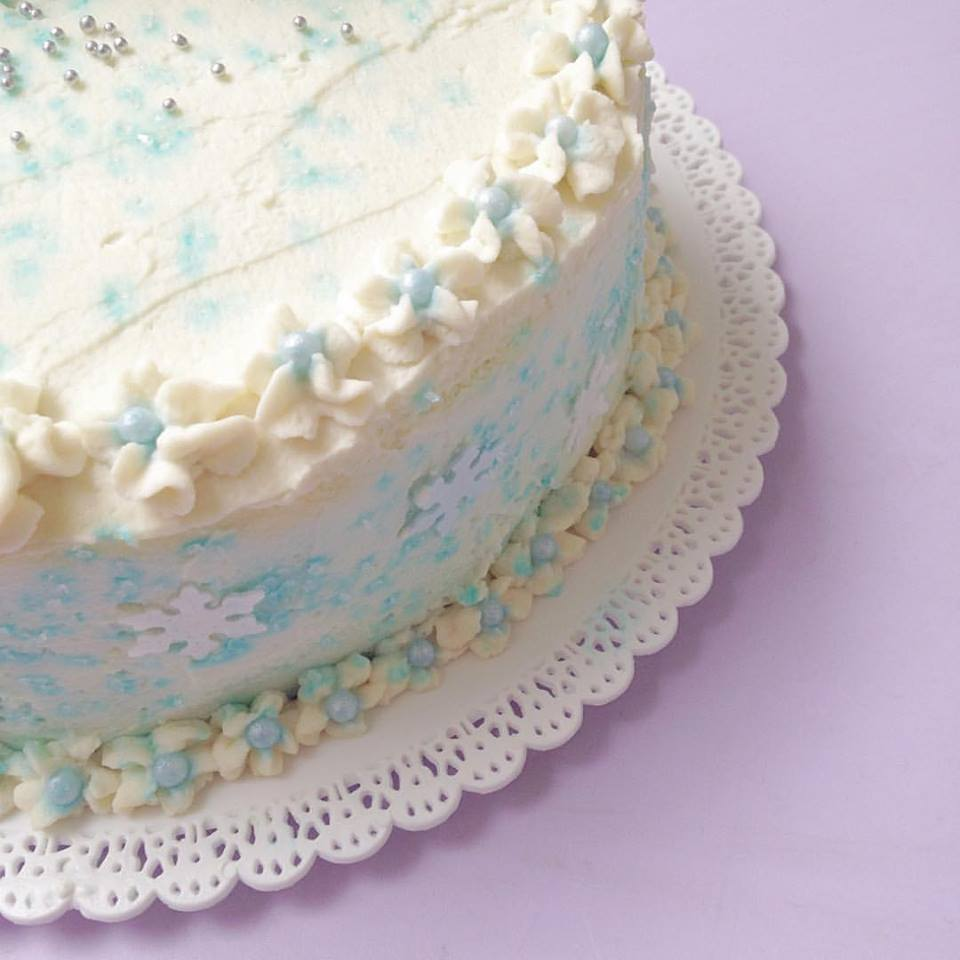 Frozen layer Cake