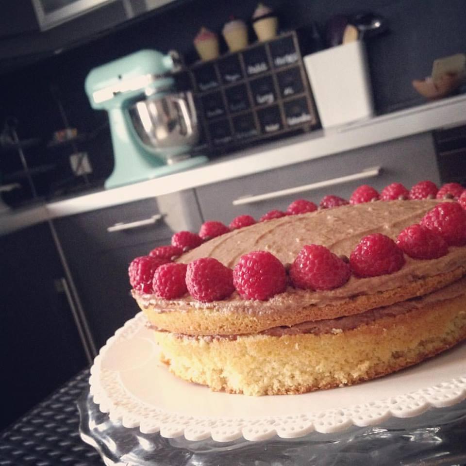 Gâteau Choco-Framboises