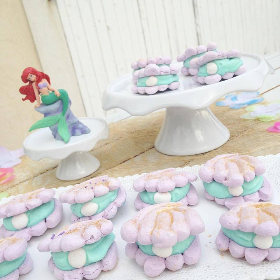 Macarons Coquillages