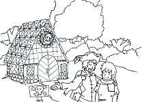"""Illustration zu """"Die drei Schätze"""" von  Angelika Diem, gezeichnet von Melanie Lipka"""