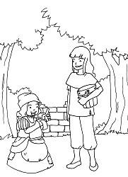 Die Köhlerstochter und die Zwergin