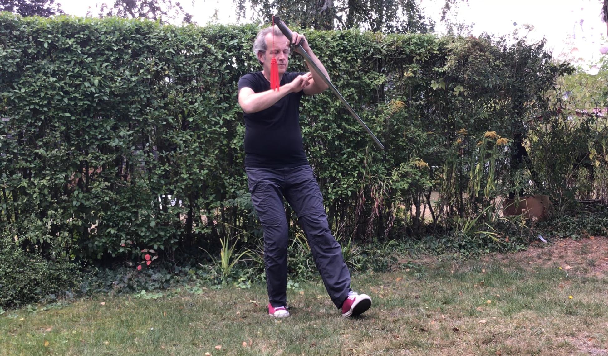 neben den Waffenformen Säbel & Lanze habe ich in 2019 mit dem Studium der Schwertform begonnen