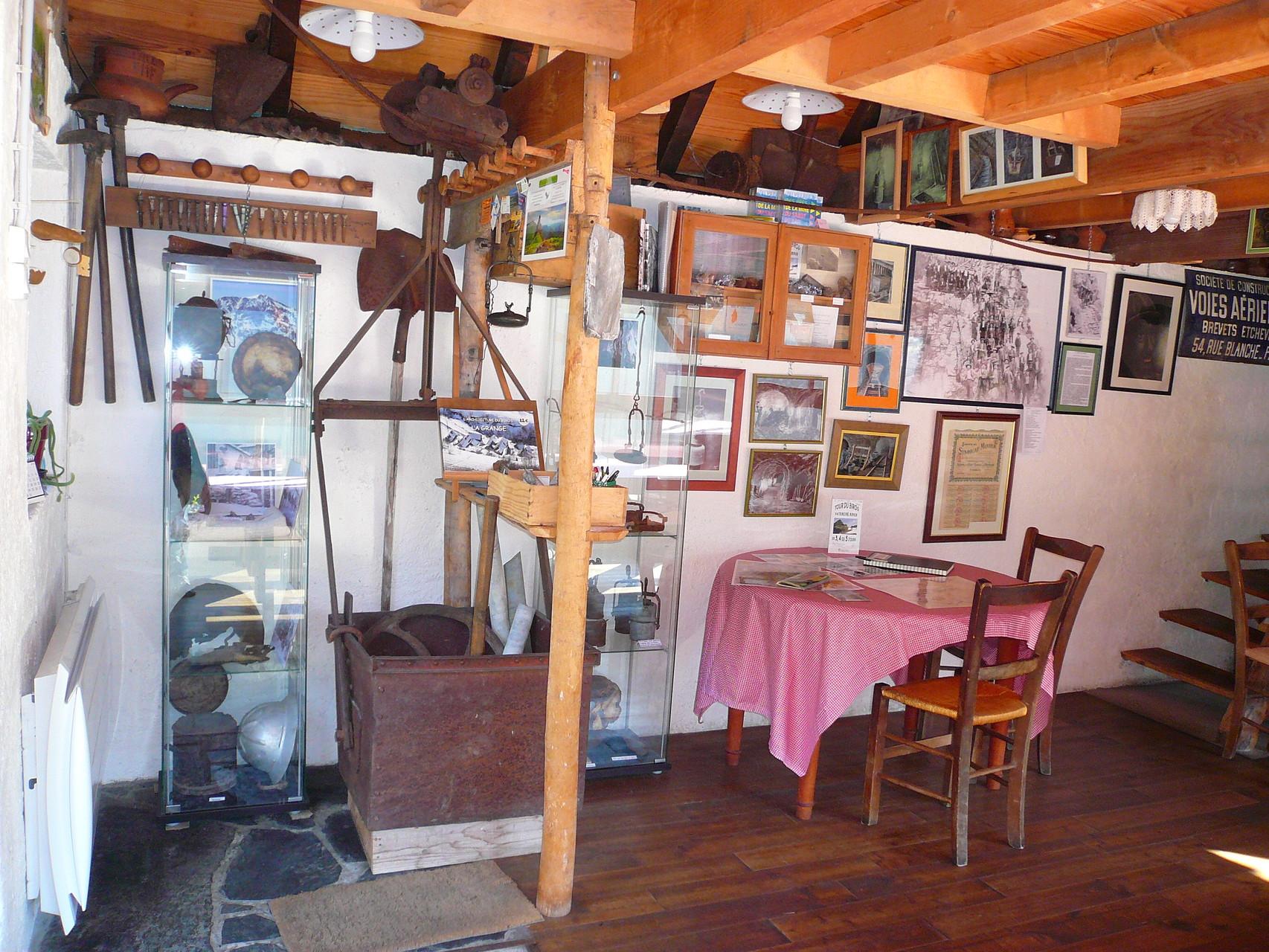 Le mini musée des mines