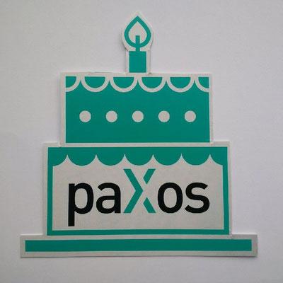 Geburtstagstorte auf Karte