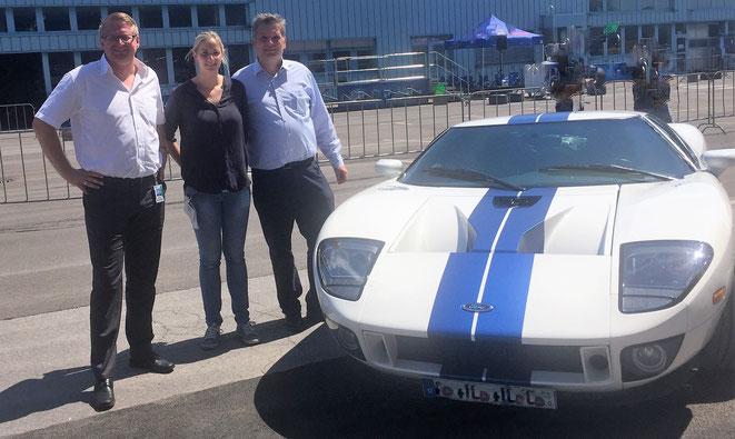 Ford GT Event mit Mitarbeitern