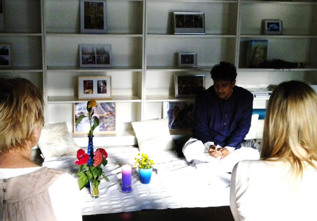 Dhrupad Gesangsworkshop mit Ashish Sankrityayan im ZEKI, April 2011