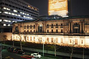 先輩に誘われてオフィスシェアから始めたら、なんと場所が日本銀行の横!3年いましたが、居心地の良いオフィスでした☆