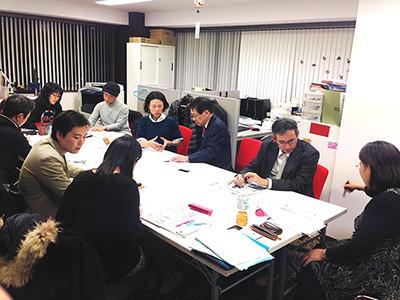 ※東京・大阪で開催した実際のヒアリングシートを書いて頂く勉強会