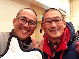 念のため・・・左が畠山さんです。