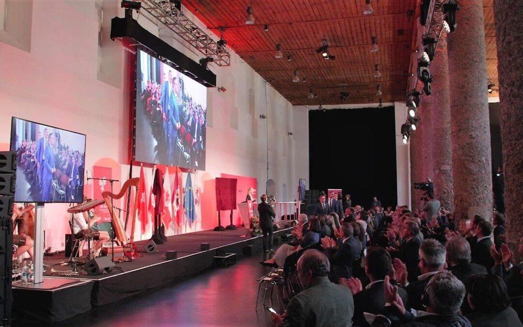 Festakt der Europaregion im Salzlager Hall