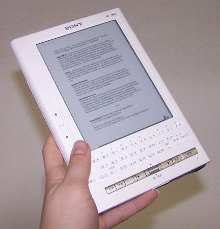Liseuse Librié de Sony