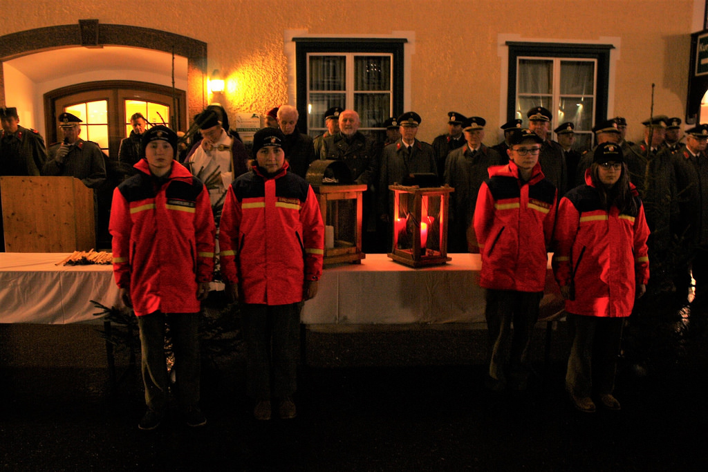 Friedenslichtübergabe in Bad Mitterndorf 2017