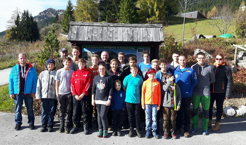 Wandertag der Jugend vom Abschnitt Bad Mitterndorf 2017