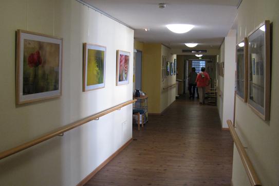 Ausstellung im Hospiz in Friedrichshafen
