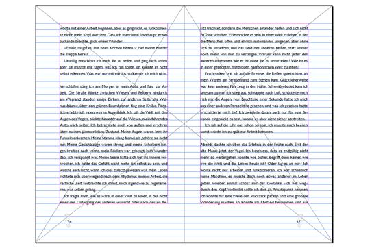Valerie Forster, Von der Idee zum Buch - Teil 5: Buchblockdesign