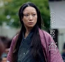 大河ドラマの北条政子(杏)