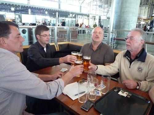 4h Aufenthalt in Oslo - darauf ein/zwei Bierchen