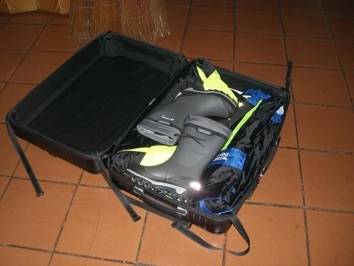 Das Koffer packen beginnt