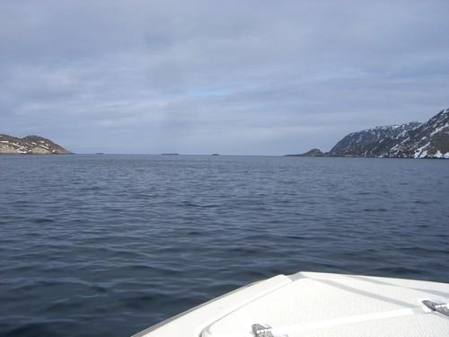 Glatte See, aber man sollte sich nie sicher sein, dass es so bleibt