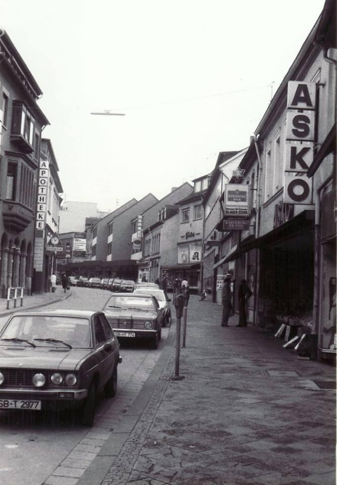 Saarbrücker Straße 1970er Jahre