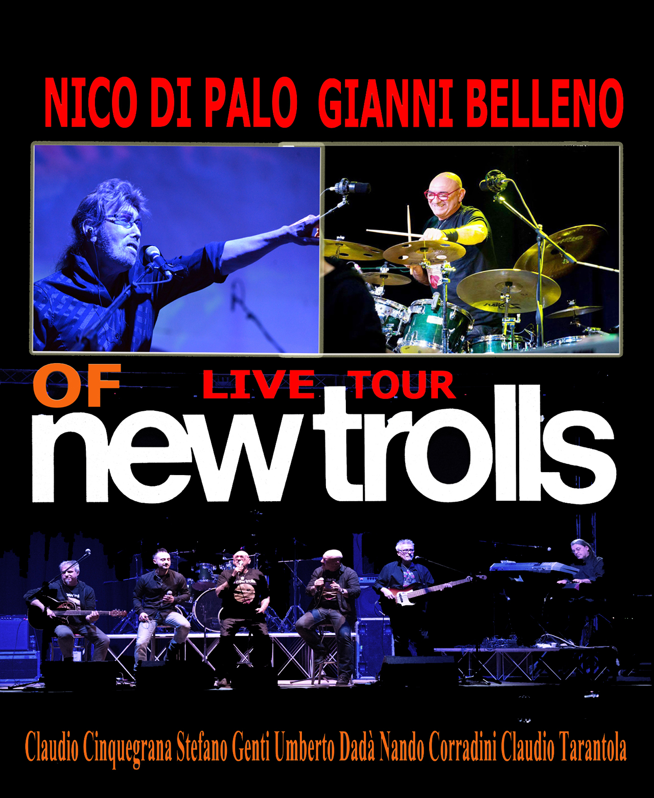 New Trolls, contatti New Trolls, management New Trolls, concerti New Trolls, agenzia New Trolls, ingaggio New Trolls, roster New Trolls, roster, 2018, booking New Trolls, booking, roster,