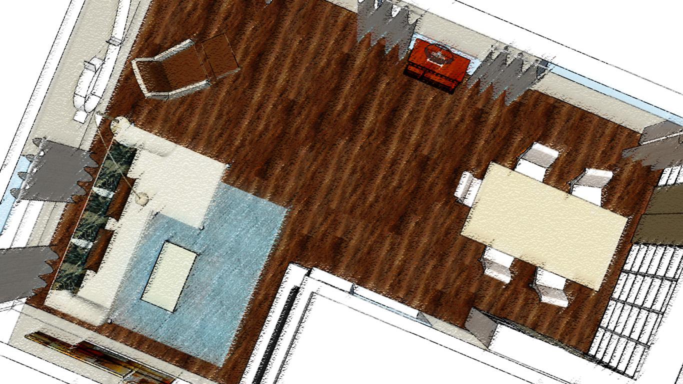 Gestaltung Wohn- und Esszimmer - Büschking Raumkonzept