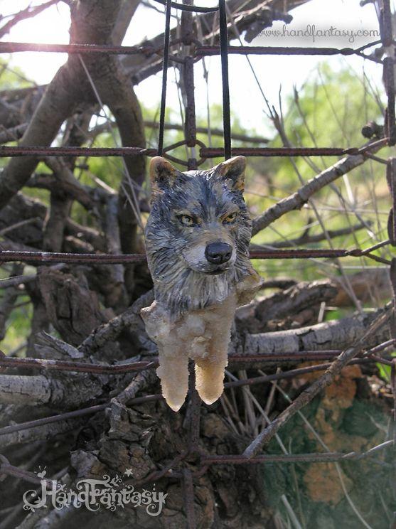 Lobo ibérico, colgante de lobo, collar lobo, joyería lobo