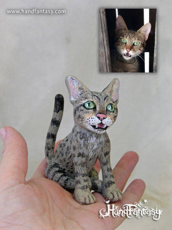 Figura de gato, Figura de mascotas personalizadas, figura de gatos