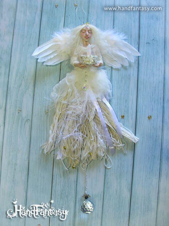 Figura de Ángel de la guarda