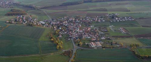 Luftbild von Windshausen. Quelle: FK