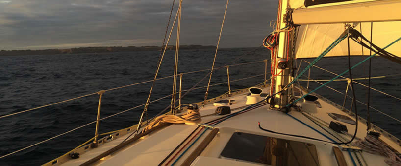 Navigation en Baie de Quiberon