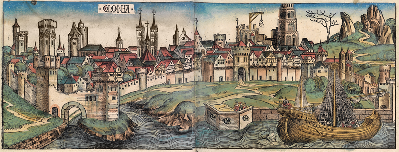 Köln 1493 Scheldesche Chronik