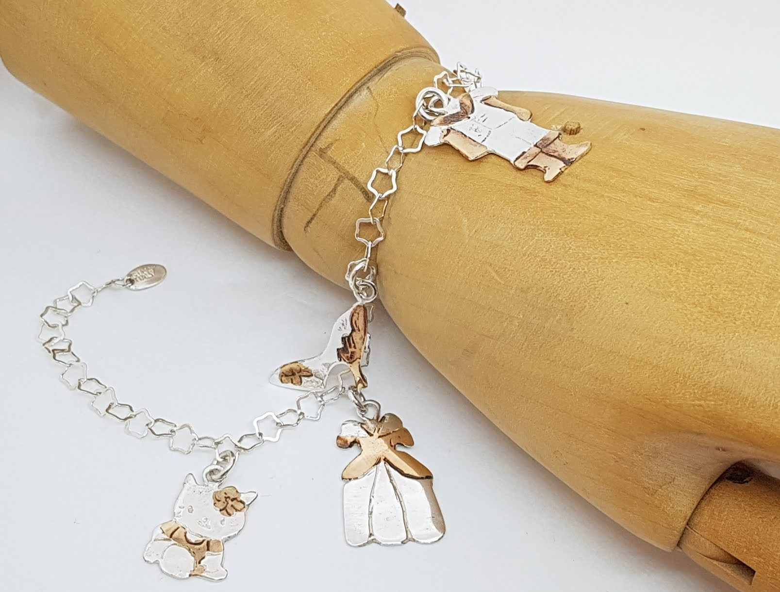 silver - bracciali con charms