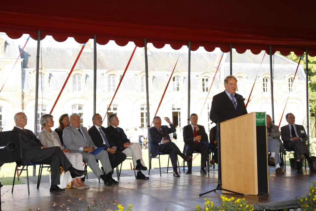 discours de Jean-François BEGE Président des Amis de La Ferté-Vidame