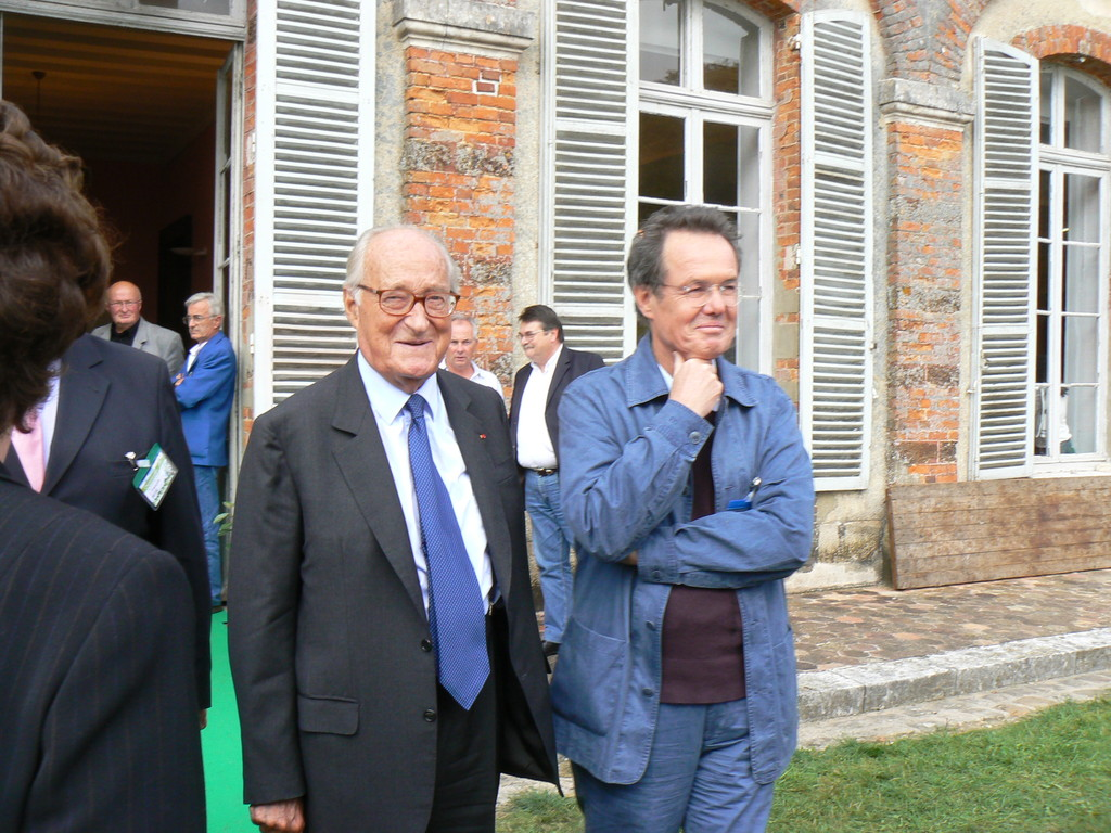Alain Decaux et Jean Paul Kaufman