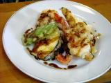 秋野菜の天麩羅 カレーソース
