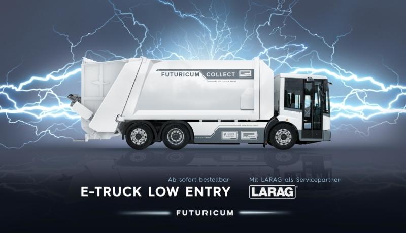 Elektro Müll-LKW Futuricum der Schweizer Firma DesignWerk und Volvo Chassis überzeugt in allen Belangen und prägt das Arbeitsklima sehr positiv!