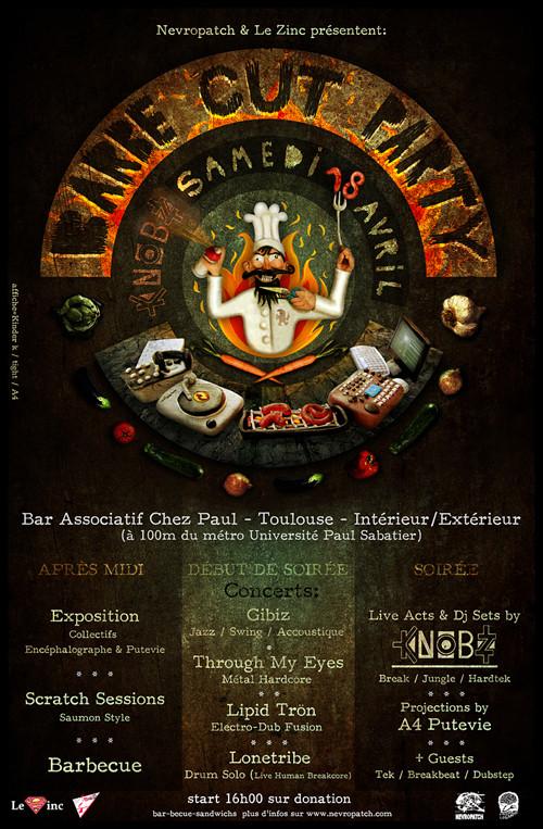 Affiche de concert / Collectif Encéphalographe  2010