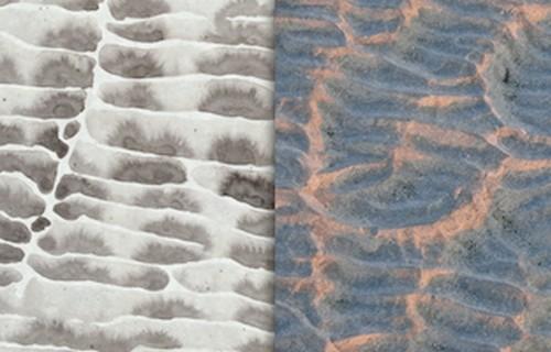 Alfred Manessier, peintre, Baie de Somme, sable, galets, port, Le Crotoy, émotions