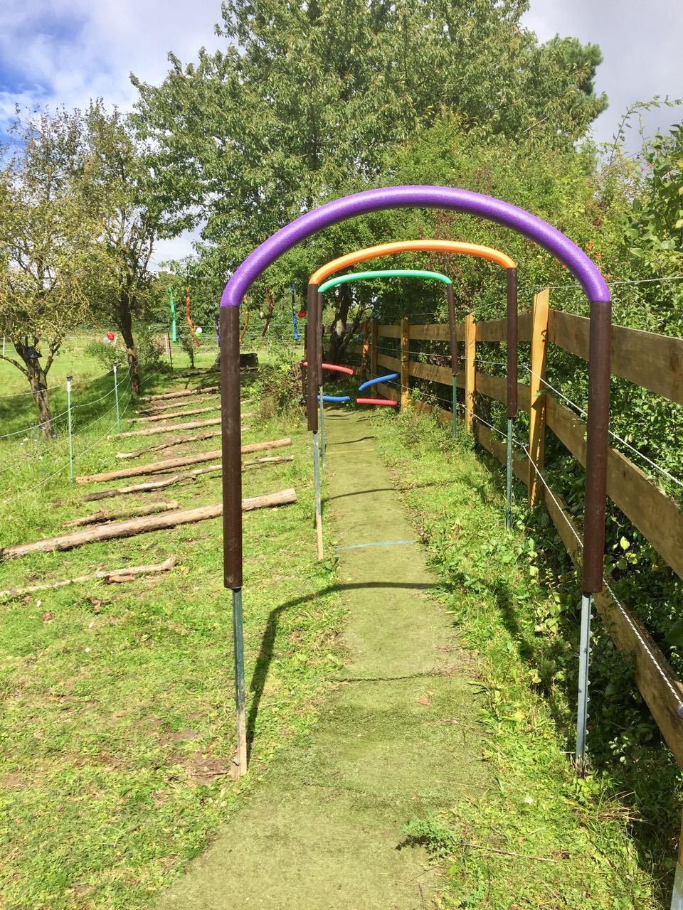 Zentrum für Pferdegesundheit - Paddocktrail: Spielplatz