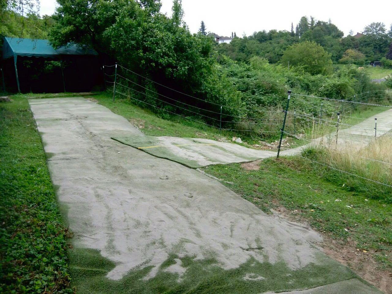 Zentrum für Pferdegesundheit - Paddocktrail: Weidezelt