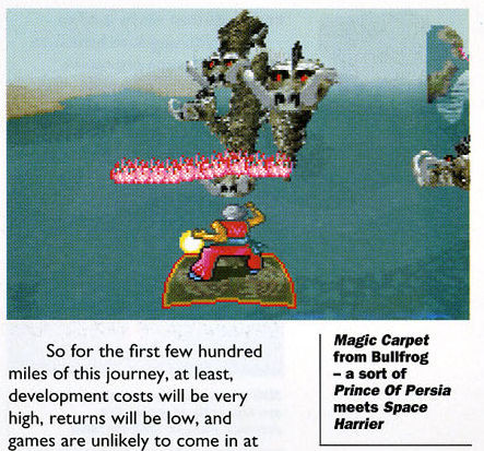Magic Carpet game dos