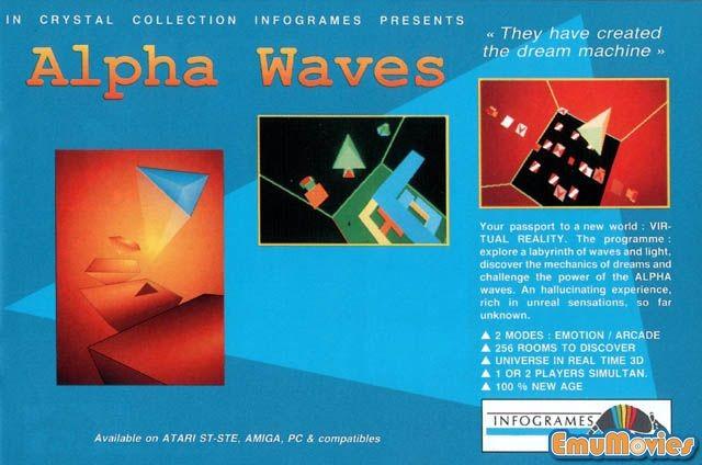 Alpha Waves game