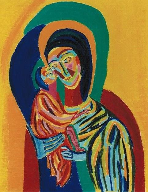 die zweifelnde Mutter Gottes